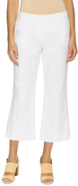 Lafayette 148 New York Women's Downtown Cotton Flared Cropped Pant