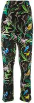 No.21 botanical print trousers - women - Silk - 40