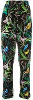 No.21 botanical print trousers