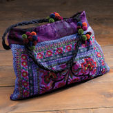 Tribal Embroidered Tote