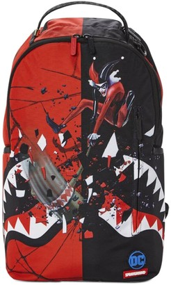 Sprayground Harley Quinn Printed Canvas Backpack