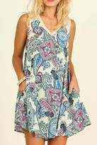 Umgee USA Paisley Passion Dress