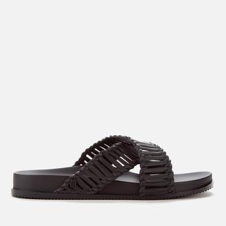 Melissa Women's Salinas Cosmic II Cross Front Sandals - Black