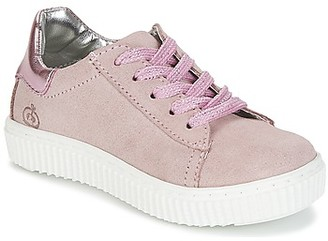 Citrouille et Compagnie IPOGUIBA girls's Shoes (Trainers) in Pink