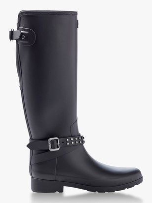 Hunter Refined Adjustable Stud Tall Boot