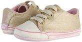 Juicy Couture Lurex Metallic Sneaker (Infant) (Metallic) - Footwear