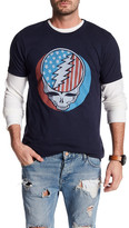 Junk Food Clothing Grateful Dead American Skull Tee