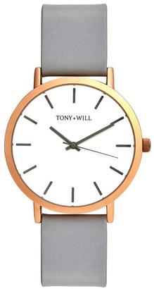 TONY+WILL Classic Grey TWT000C Watch