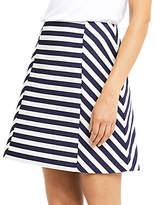 Oasis Stripe A-Line Skirt, Multi