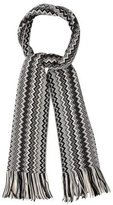Missoni Patterned Knit Wool Scarf