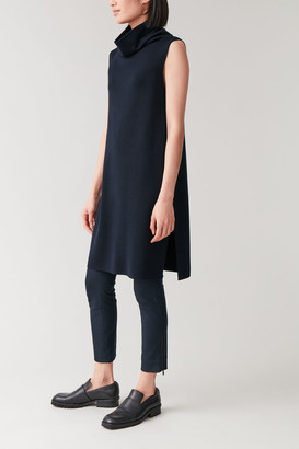 Cos Wool-Cotton Sleeveless Tunic