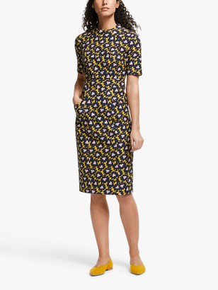 Boden Louise Textured Floral Dress