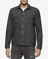 Calvin Klein Jeans Men's Bonded Knit Trucker Jacket