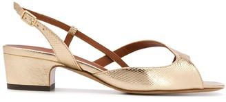 Michel Vivien Asymmetric Strap Sandals