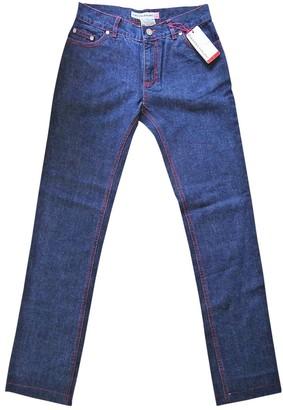 JC de CASTELBAJAC Blue Cotton Jeans