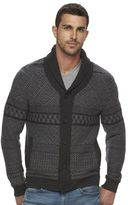 Marc Anthony Men's Slim-Fit Fairisle Wool-Blend Cardigan