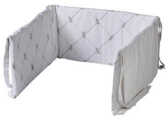 BEIGE Nicolientje Cot Bed Bumper (Beige, 180 X 35cm)