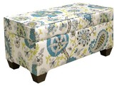 Skyline Furniture Ladbroke Storage Bench Multi Colored
