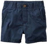 Carter's Boys 4-7 Pull-On Poplin Shorts