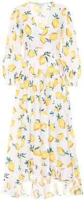 Alexandra Miro Exclusive to Mytheresa Maria printed cotton maxi dress