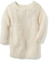 Old Navy Open-Knit Cocoon Sweater for Toddler