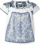 Wunderkind square print blouse - women - Cotton - 32