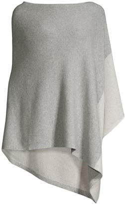 Eileen Fisher Lofty Recycled Cashmere & Wool Poncho