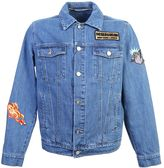 Kenzo Embroidered Patch Denim Jacket