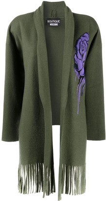 Boutique Moschino Flower Detail Cardigan