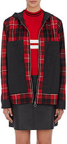 Tim Coppens Women's Mixed-Media Jacket-RED