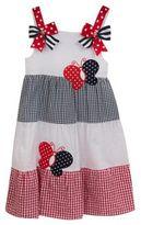 Rare Editions Little Girl's Butterfly Seersucker Dress