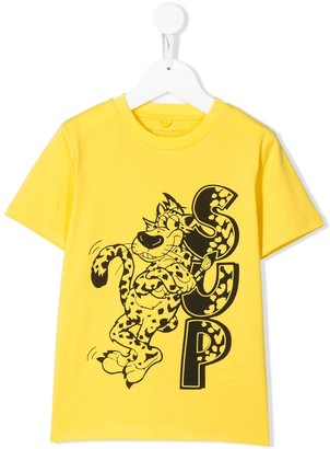 Stella McCartney sup leopard print T-shirt