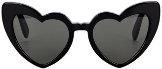 Saint Laurent Loulou Heart-Shaped Sunglasses