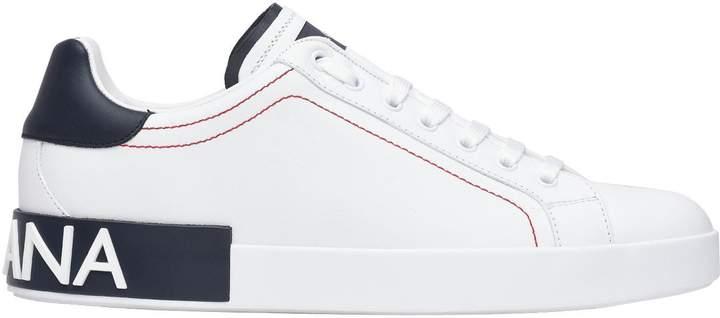 Dolce & Gabbana Portofino Sneakers White/blue