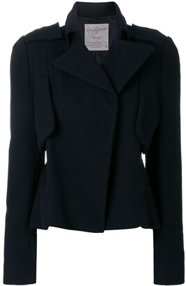 Yohji Yamamoto Pre-Owned cropped tailored jacket