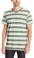 Akademiks Men's Alden Striped T-Shirt