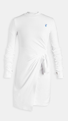 Off-White Mariacarla Wrap Dress