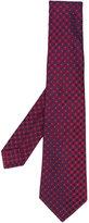 Kiton - woven pattern tie - men - Silk - One Size