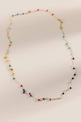 francesca's Allie Multi Beaded Necklace - Multi