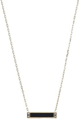 Sorellina Otto Onyx & Pave Diamond Pendant Necklace