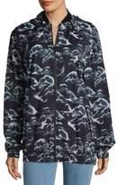 We Are Handsome Casade-Inspired Hooded Zipper Jacket