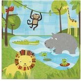 Oopsy Daisy Fine Art For Kids Too Safari Canvas Wall Art