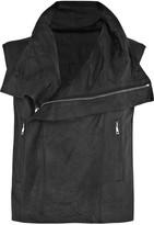 Rick Owens Blister leather vest