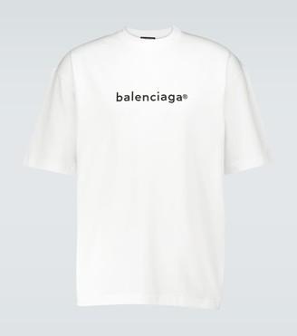 Balenciaga Copyright logo medium-fit T-shirt