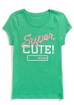 Tommy Hilfiger Final Sale- Super Cute Tee