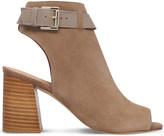 Kg Kurt Geiger Ripple suede heeled sandals