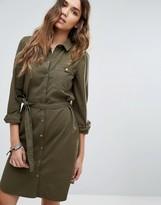 Vero Moda Long Sleeve Shirt Dress