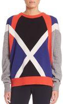 Aquilano Rimondi Graphic Print Knit Sweater