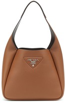 Thumbnail for your product : Prada Small leather shoulder bag