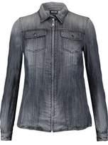 Just Cavalli Stud-Embellished Denim Shirt
